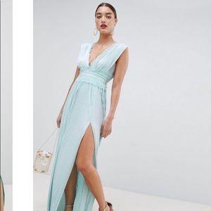 Light Blue ASOS Maxi Dress